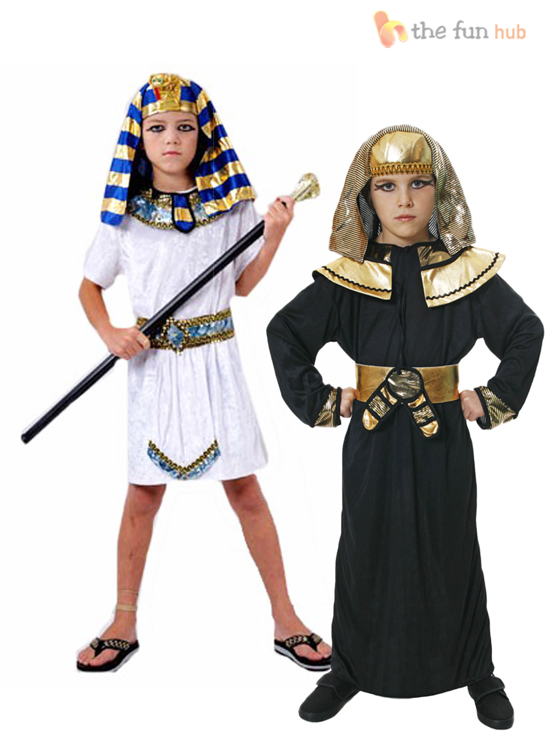 Boys-Egyptian-Pharaoh-King-Fancy-Dress-Book-Week-Costume-Historical-Kids-Outfit