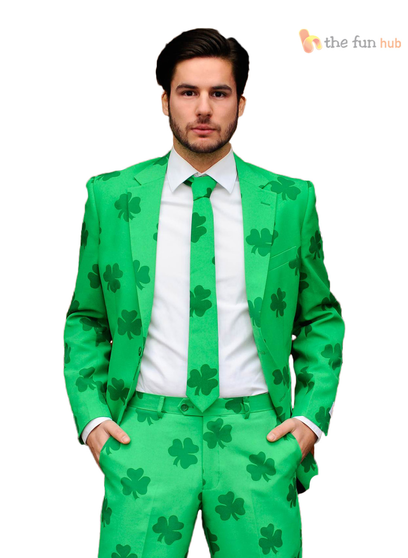 Male Shirt Irish Green Back