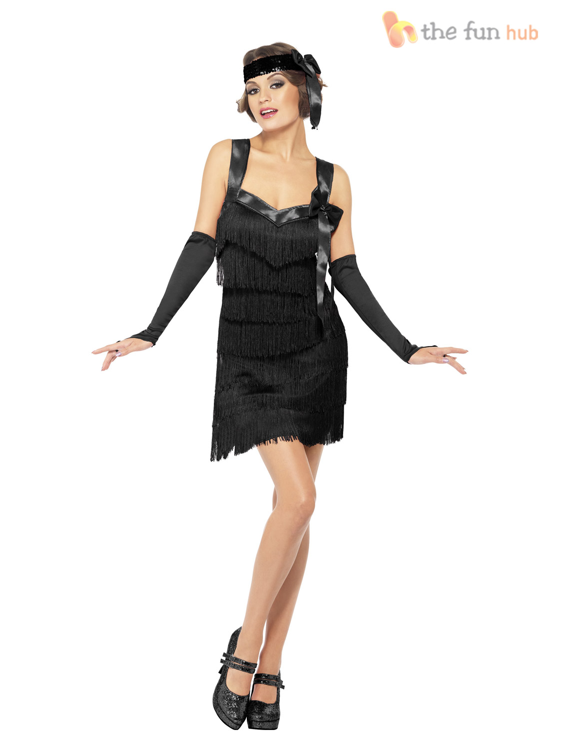 ... Flapper Costume Ladies 20s Fancy Dress Womens 1920's Charleston | eBay
