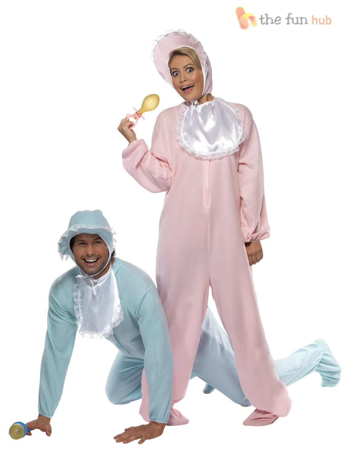 Adult Big Cry Baby Romper Suit + FREE DUMMY Funny Mens Stag Fancy ...