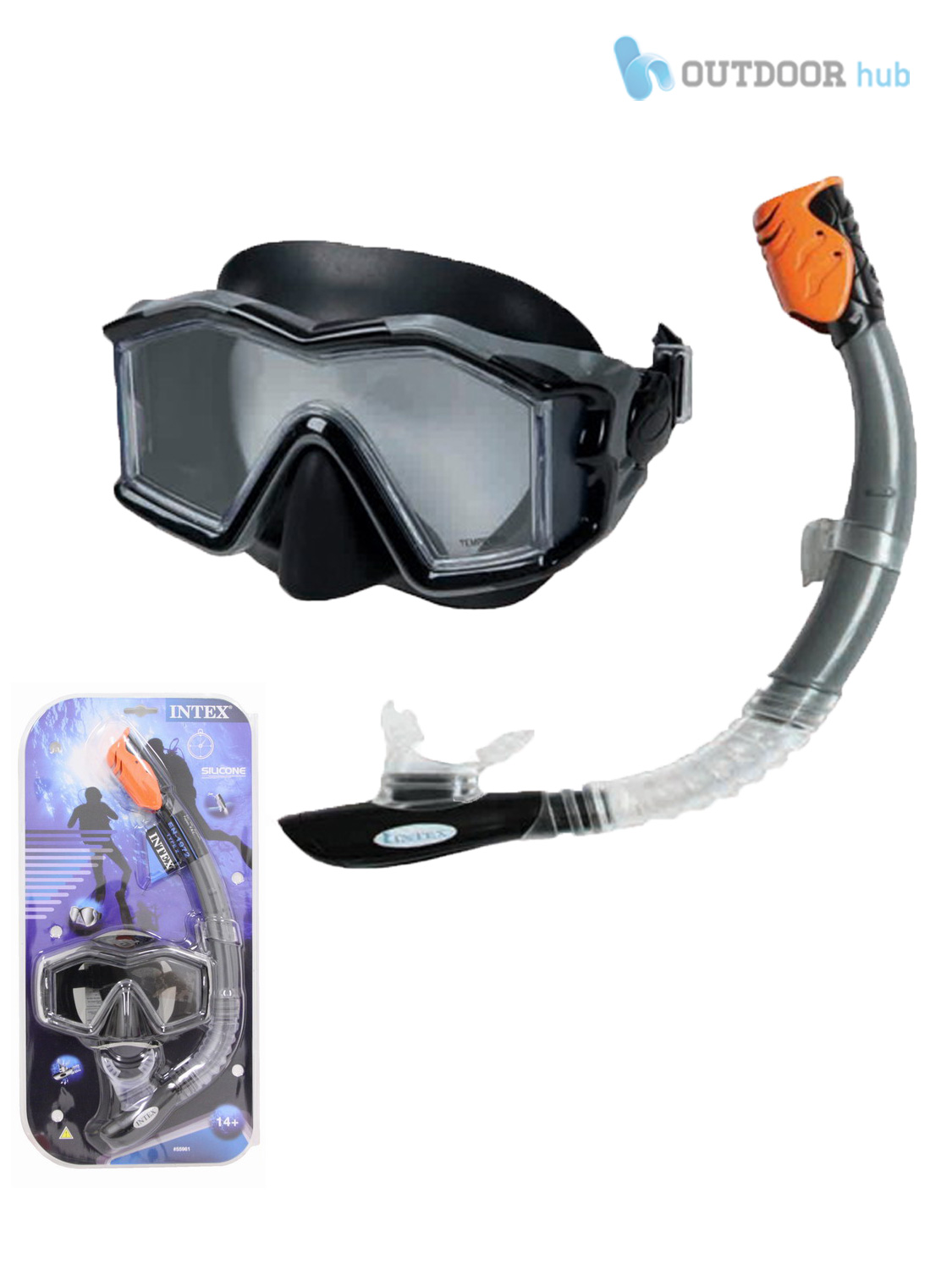 Adult-Children-Mask-Snorkel-Set-Swimming-Diving-Snorkelling-Silicone-Purge-Valve
