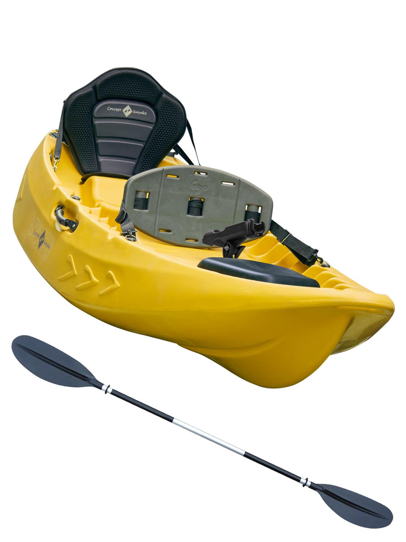 Sit on top kayak single double fishing 1 1 ocean river for Double fishing kayak