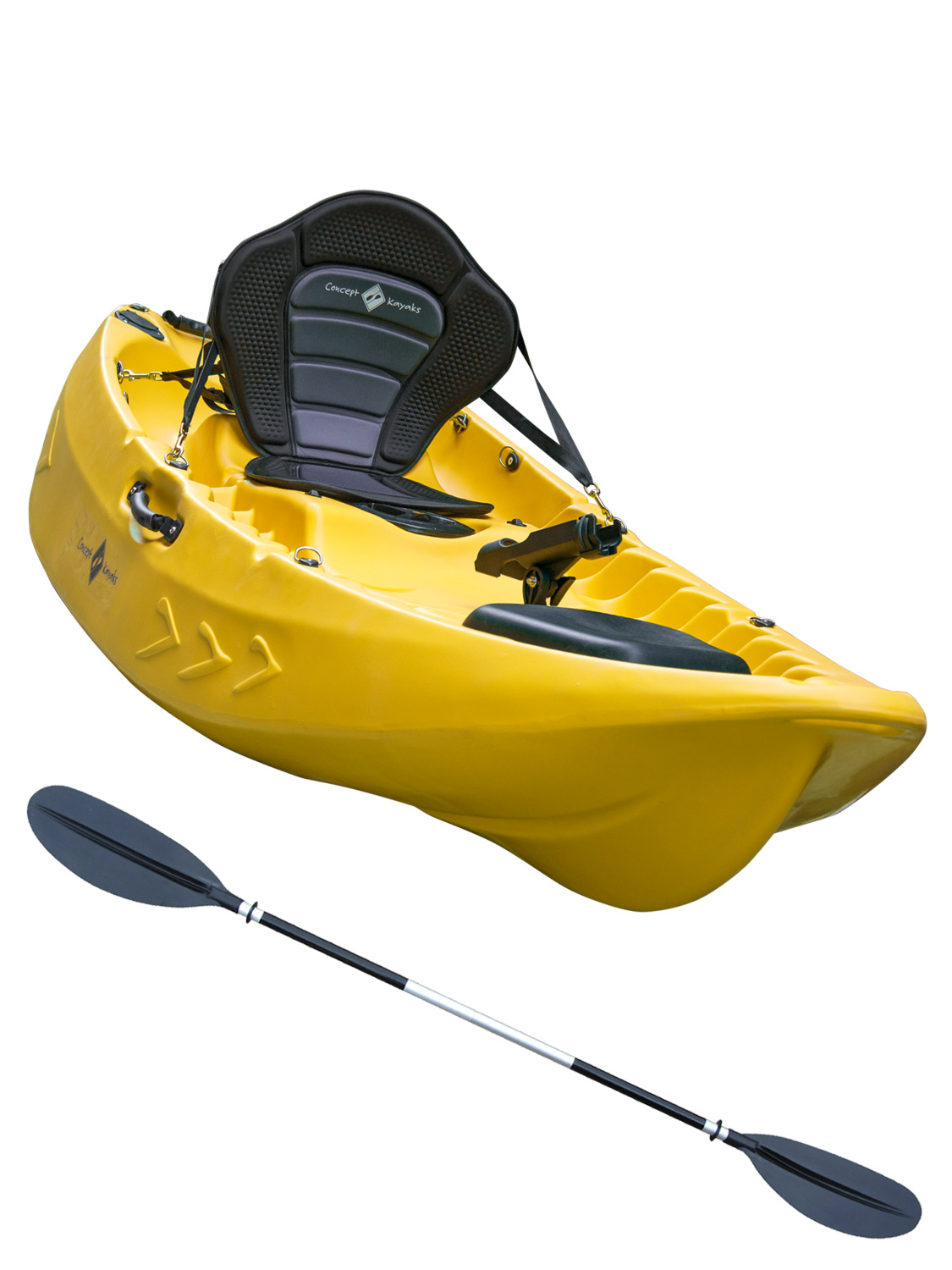 Sit on top kayak single double fishing 1 1 ocean river for Sit on vs sit in kayak for fishing