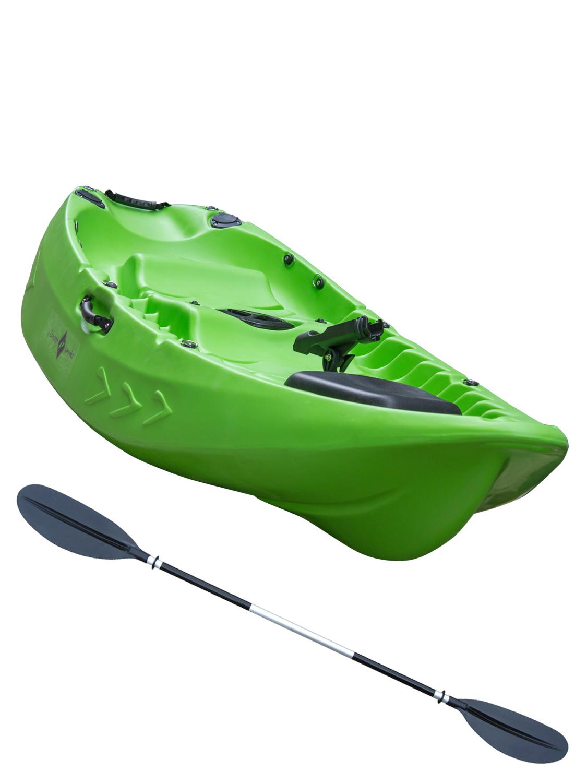 Sit on top kayak single double fishing 1 1 ocean river for Best fishing canoe