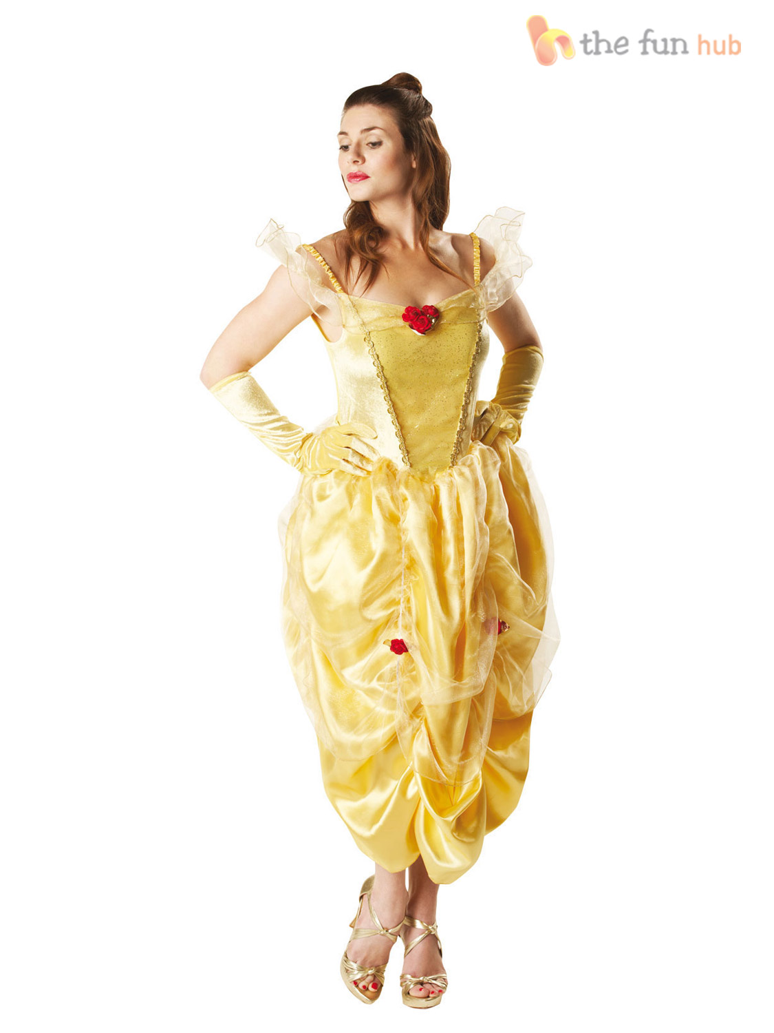 Disney princess gowns for adults - Official Ladies Deluxe Disney Princess Fairytale Costume Adult