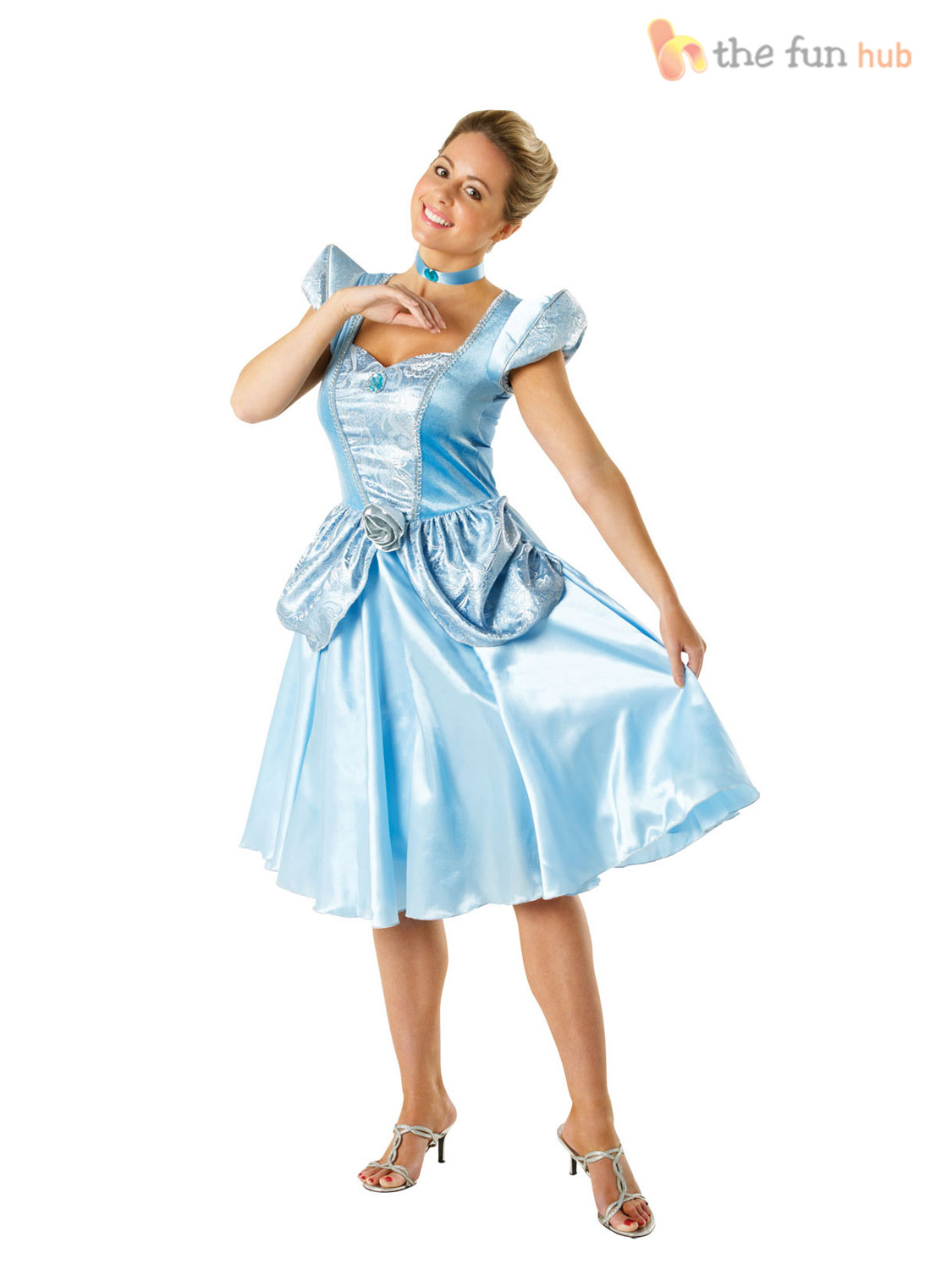 Official ladies deluxe disney princess fairytale costume - Robe disney adulte ...
