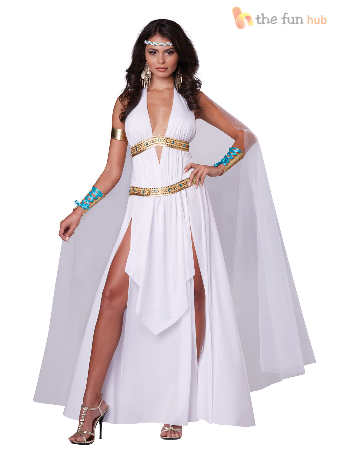 femme sexy grec d esse romaine femme toge helen of troy costume robe fantaisie ebay. Black Bedroom Furniture Sets. Home Design Ideas