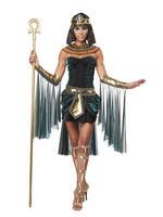 Ladies Short Egyptian Goddess Costume