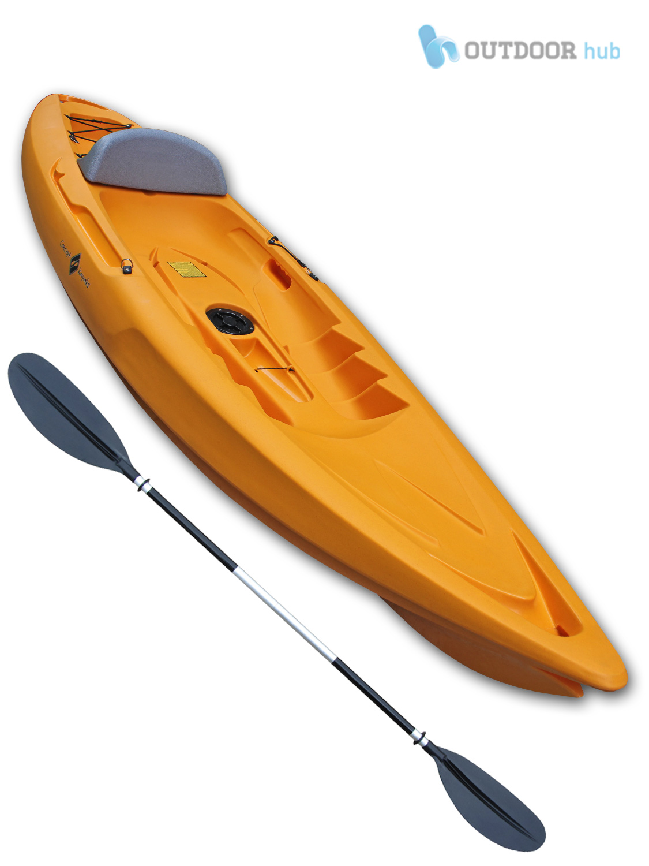 Sit On Top Kayak Performance Single Ocean Surf River Canoe - Concept Cirrus | eBay