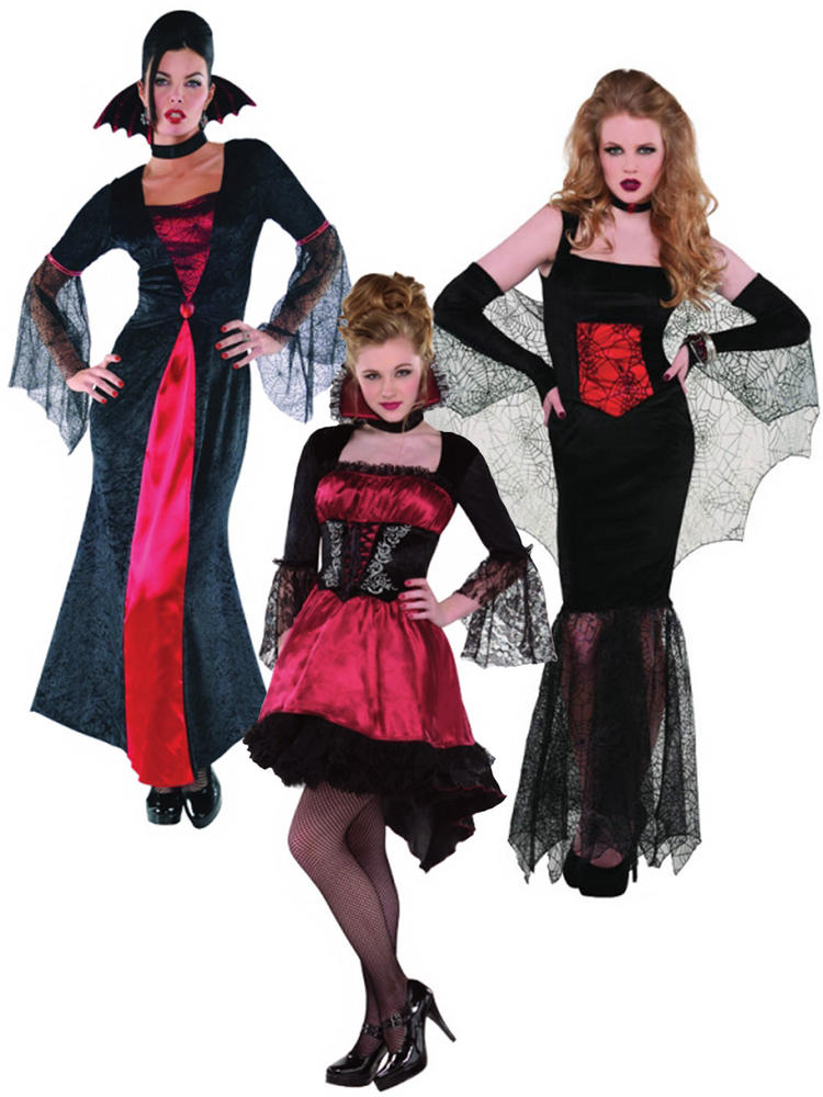 Ladies Vampire Costume