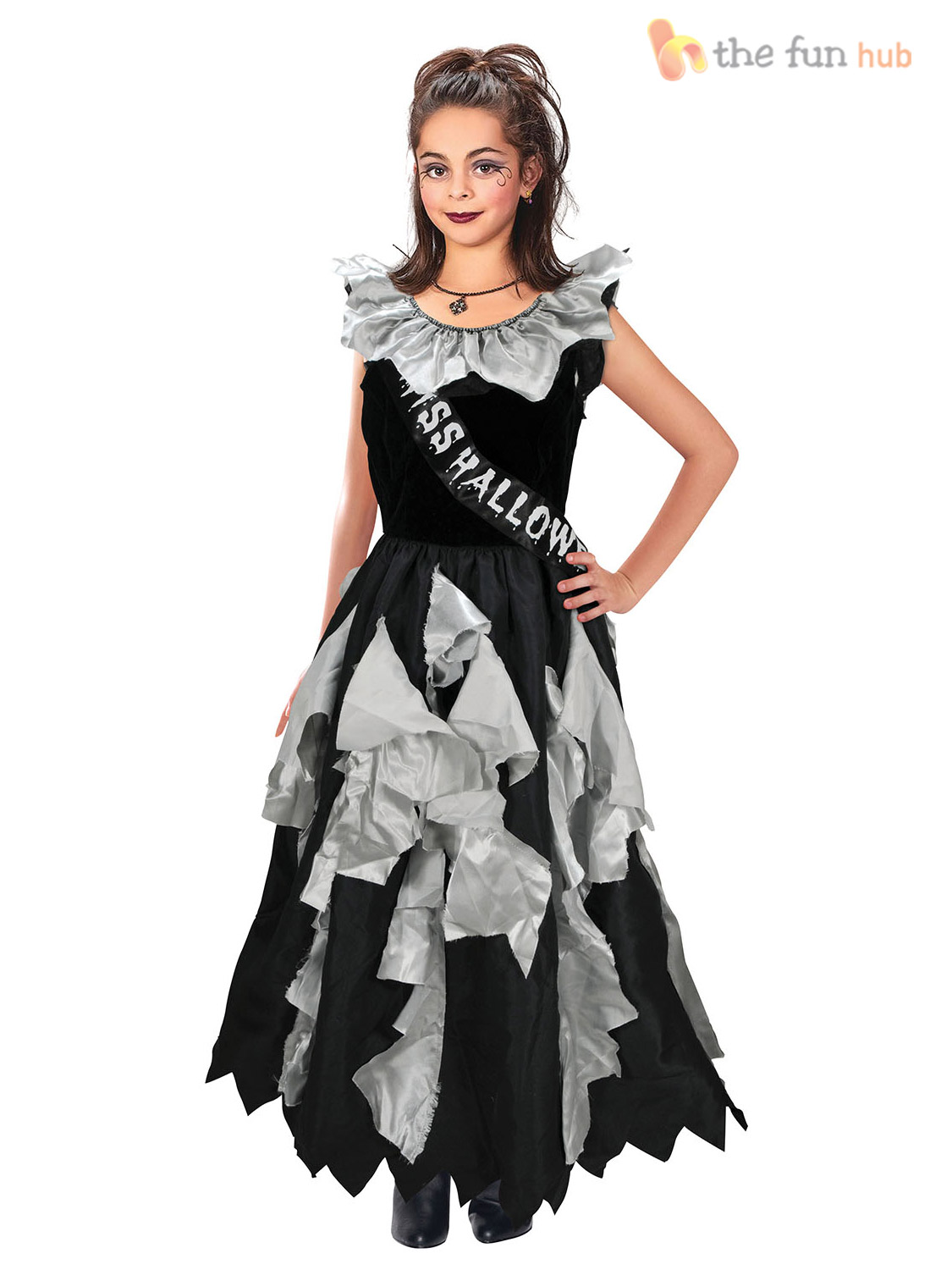 age 813 girls zombie school prom queen teen halloween