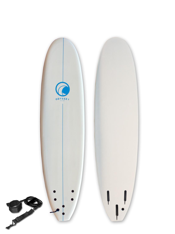 Odyssey-6ft-7ft-8ft-Foam-Surfboard-Foamie-Soft-Surf-Board-Beginners-Kids-Adults