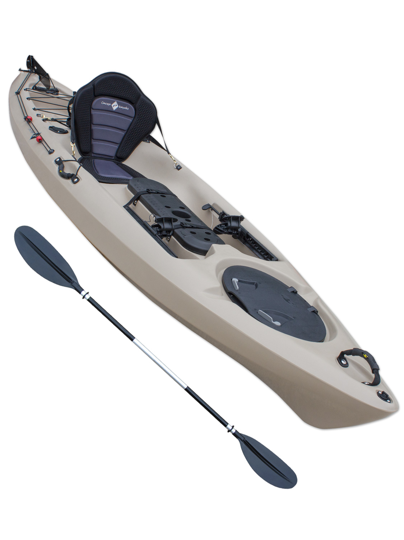 Sit On Top Kayak Single Fishing Ocean Canoe Concept