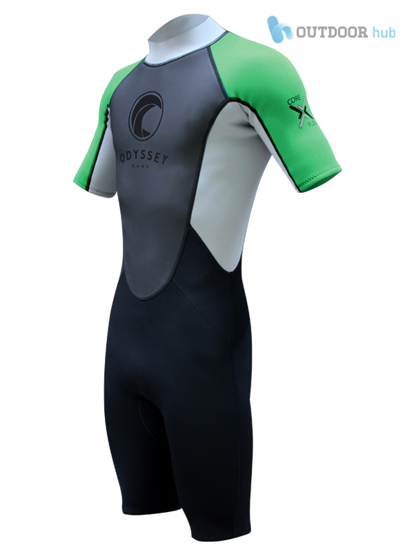 Odyssey-3mm-Mens-Shorty-Wetsuit-Shortie-Titanium-Wet-Suit-Kayak-Surf-Swim-S-XL