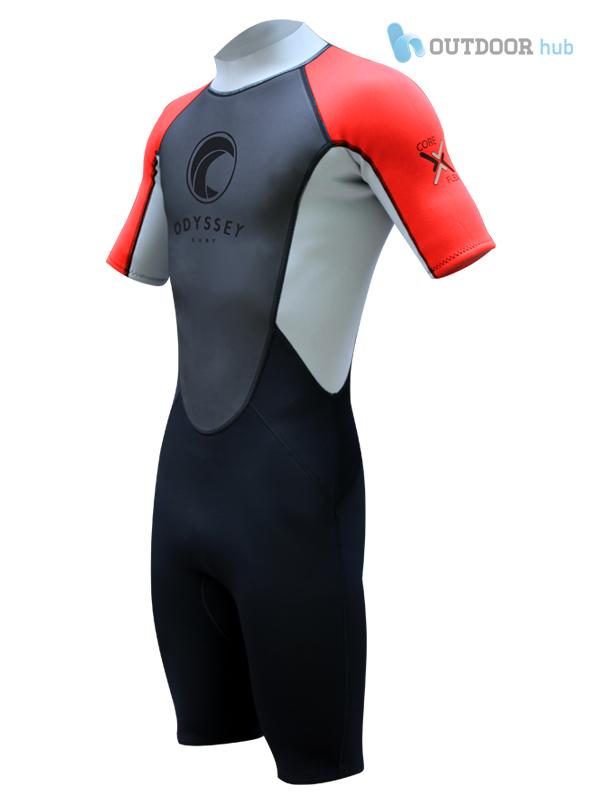 Odyssey 3mm Herren Neopren Shorty Tauchanzug Surfanzug Neoprenanzug Wassersport