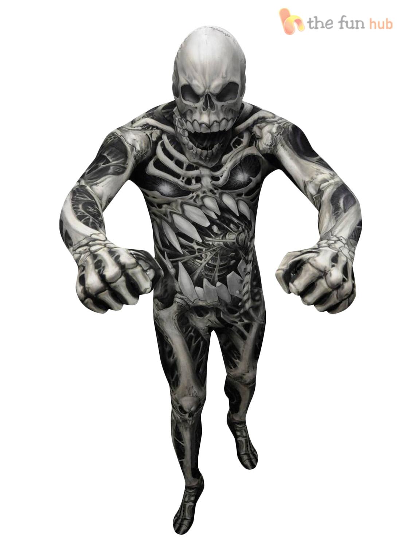 morphsuit monster kids boys robot zombie halloween fancy - Morphsuits Halloween Costumes
