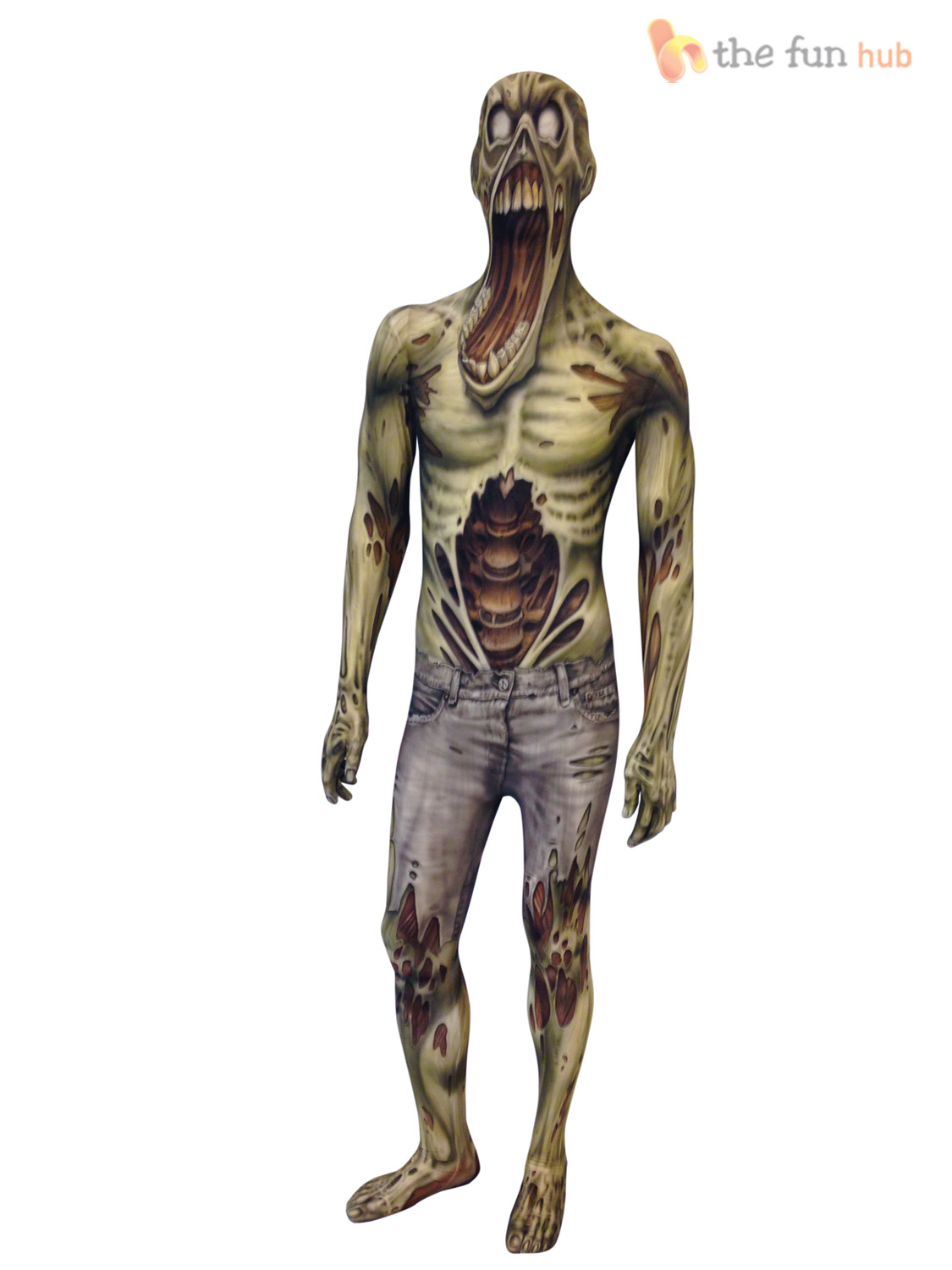 morphsuit monster kids boys robot zombie halloween fancy - Halloween Scary Costumes For Boys