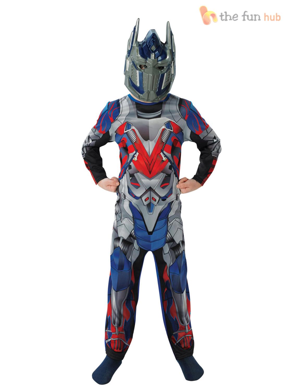 enfants transformers super h ros optimus prime costume. Black Bedroom Furniture Sets. Home Design Ideas