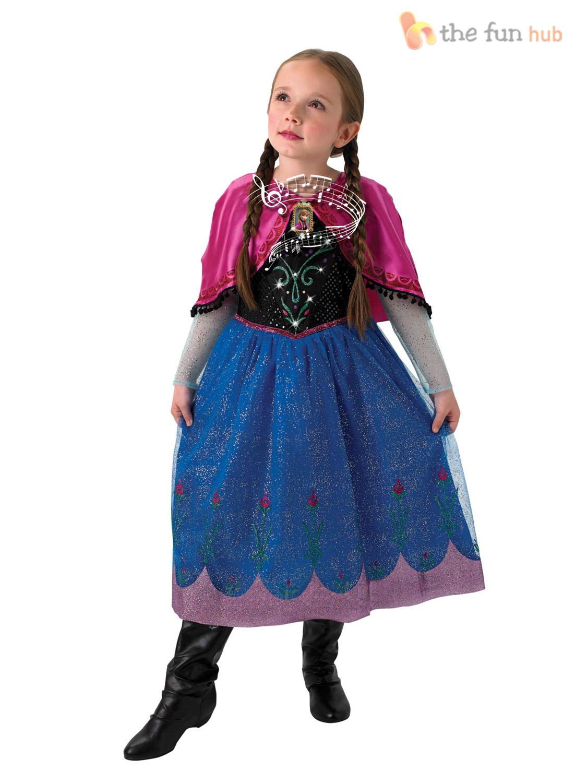 Musical Frozen Disney Princess Elsa Anna Girls Book Week