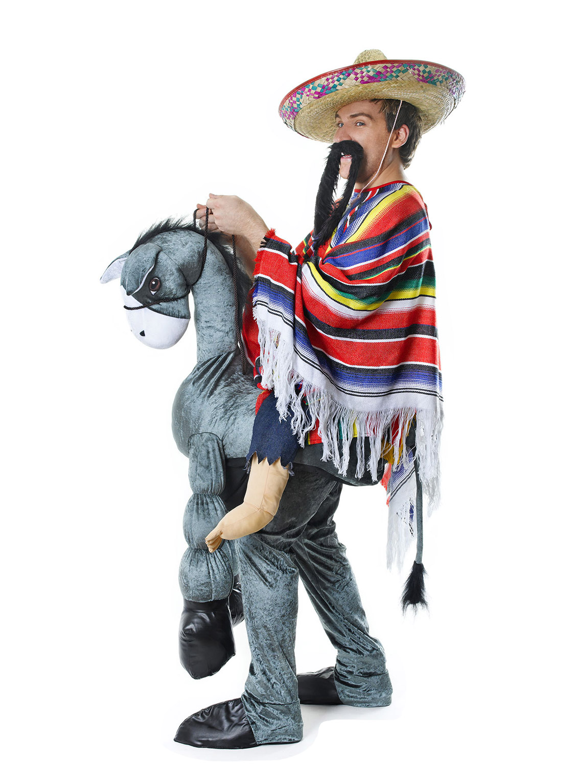 Deluxe Adult Step In Riding Ride On Animal Costumes Funny  sc 1 st  Meningrey & Ride On Donkey Costume - Meningrey