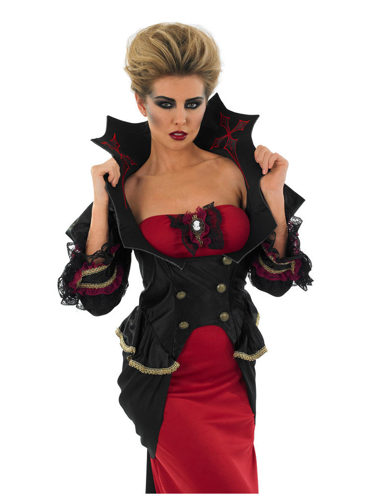 Ladies Deluxe Sexy Vampiress Costume