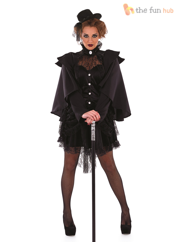 FDFU3798_ebay size 8 22 ladies sexy victorian widow womens halloween fancy dress,Ebay Womens Clothing Size 8