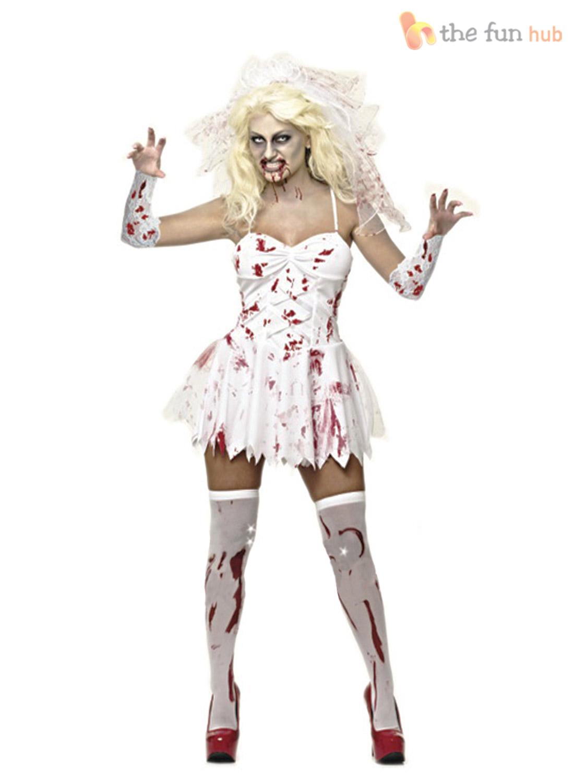 size 8 20 ladies sexy zombie corpse bride