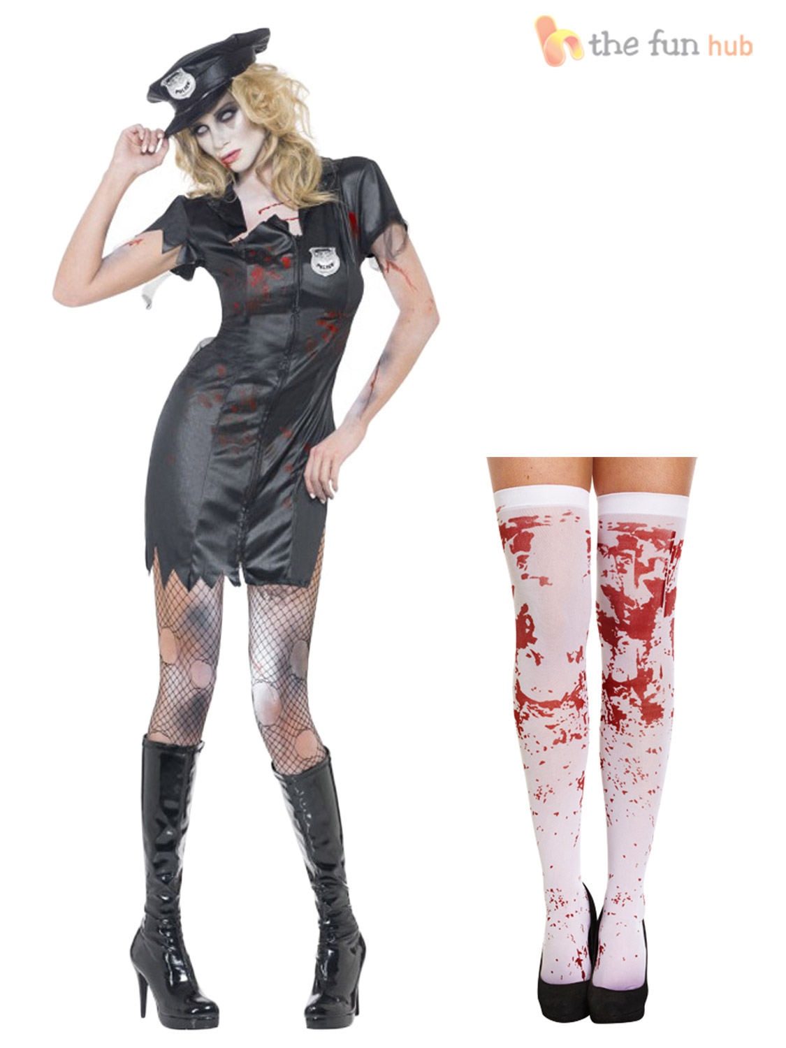 Perfect Adult Zombie School Girl Costume  32929  Fancy Dress Ball