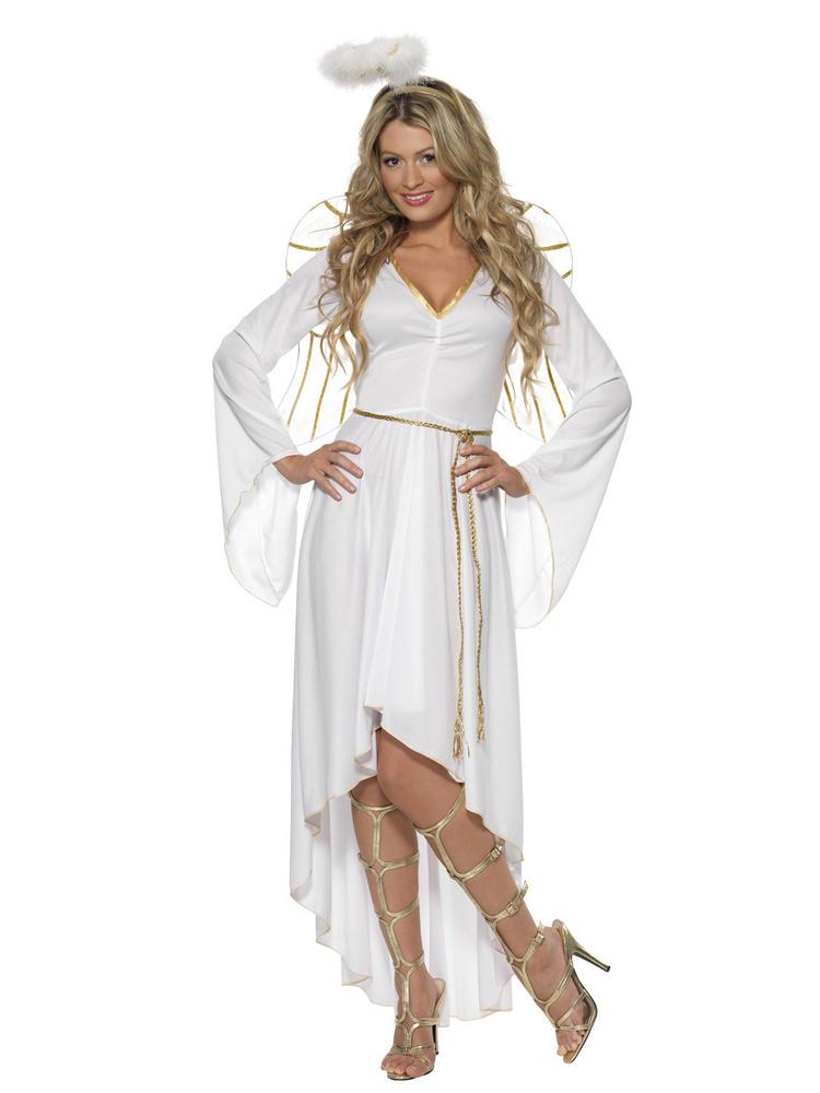 Ladies Deluxe Angel Costume