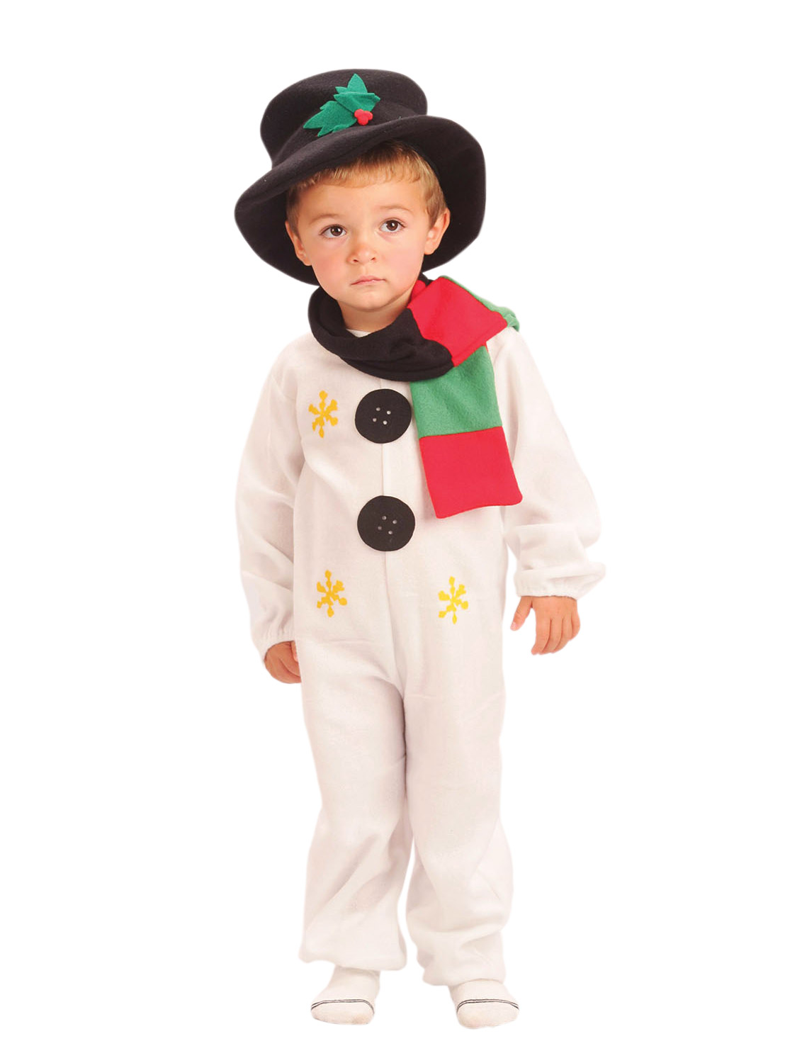 Kids Child Snowman Costume Age 2