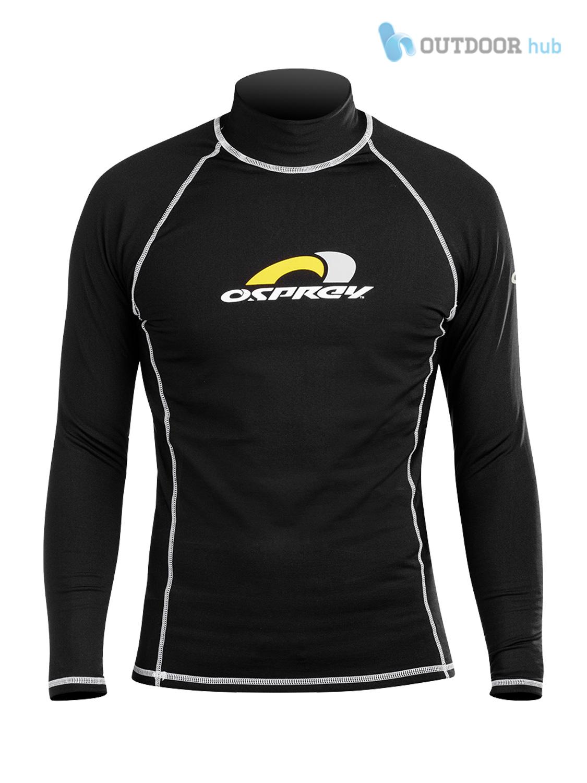 Osprey Teen MANICA LUNGA TERMICA Rash Vest Donna Bambino Protezione UV Donna XS