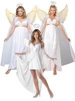Ladies Heavens Guardian Angel Costume