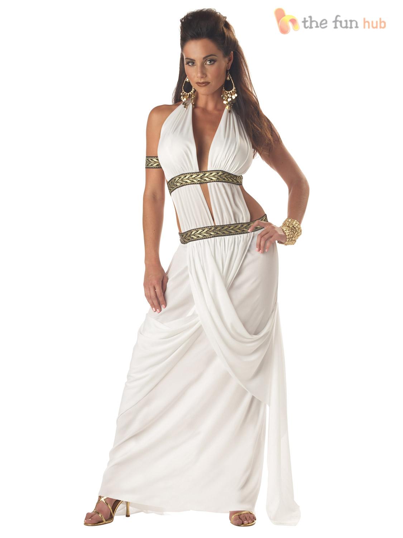 300 Queen Gorgo Adult Costume Toga Costume - In