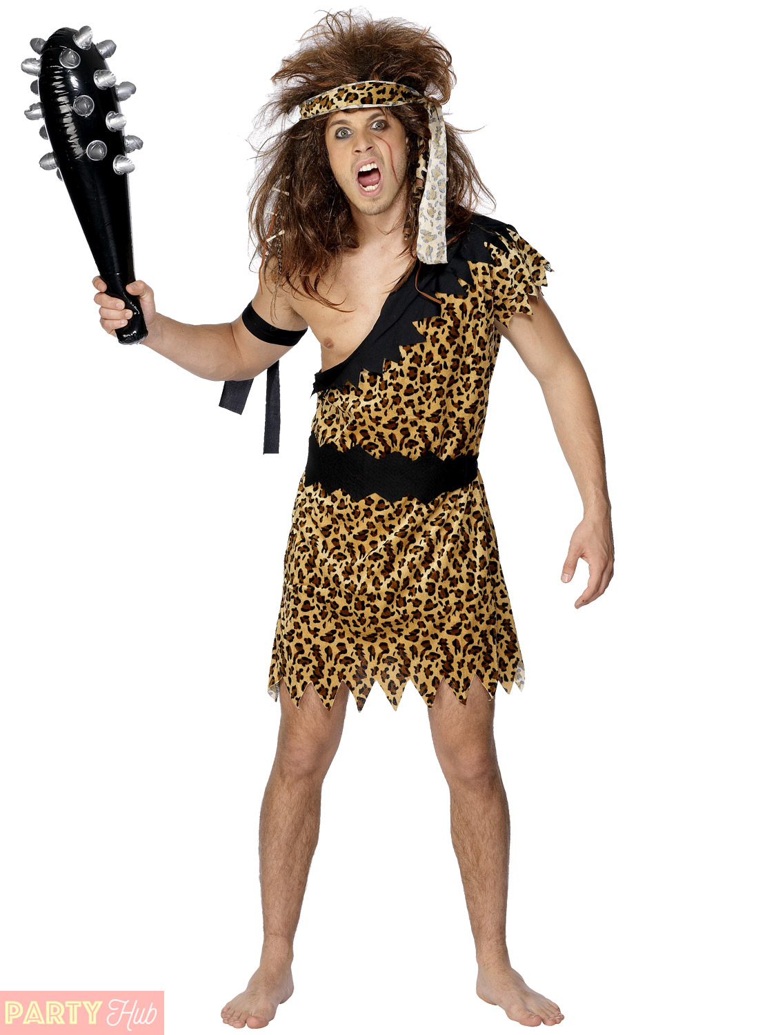 Man Cave Clothing Store : Adults caveman costume mens ladies cave girl fancy dress