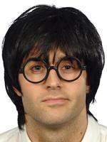 Men's Schoolboy Wig & Glasses Set