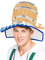 Oktoberfest Beer Barrel Hat