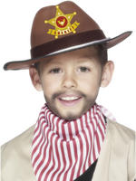 Child's Cowboy Hat With Sheriff Badge