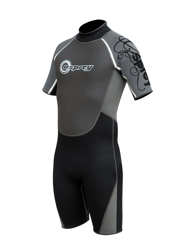 Mens-OSX-Osprey-Shorty-Wetsuit-3mm-Adult-Wet-Suit-Surf-Swim-Kayak-All-Sizes