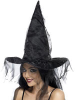 Witch Hat with Netting