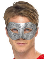 Men's Metallic Warrior Eye Mask