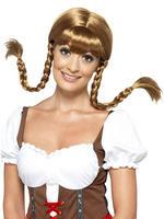 Brown Bavarian Babe Wig
