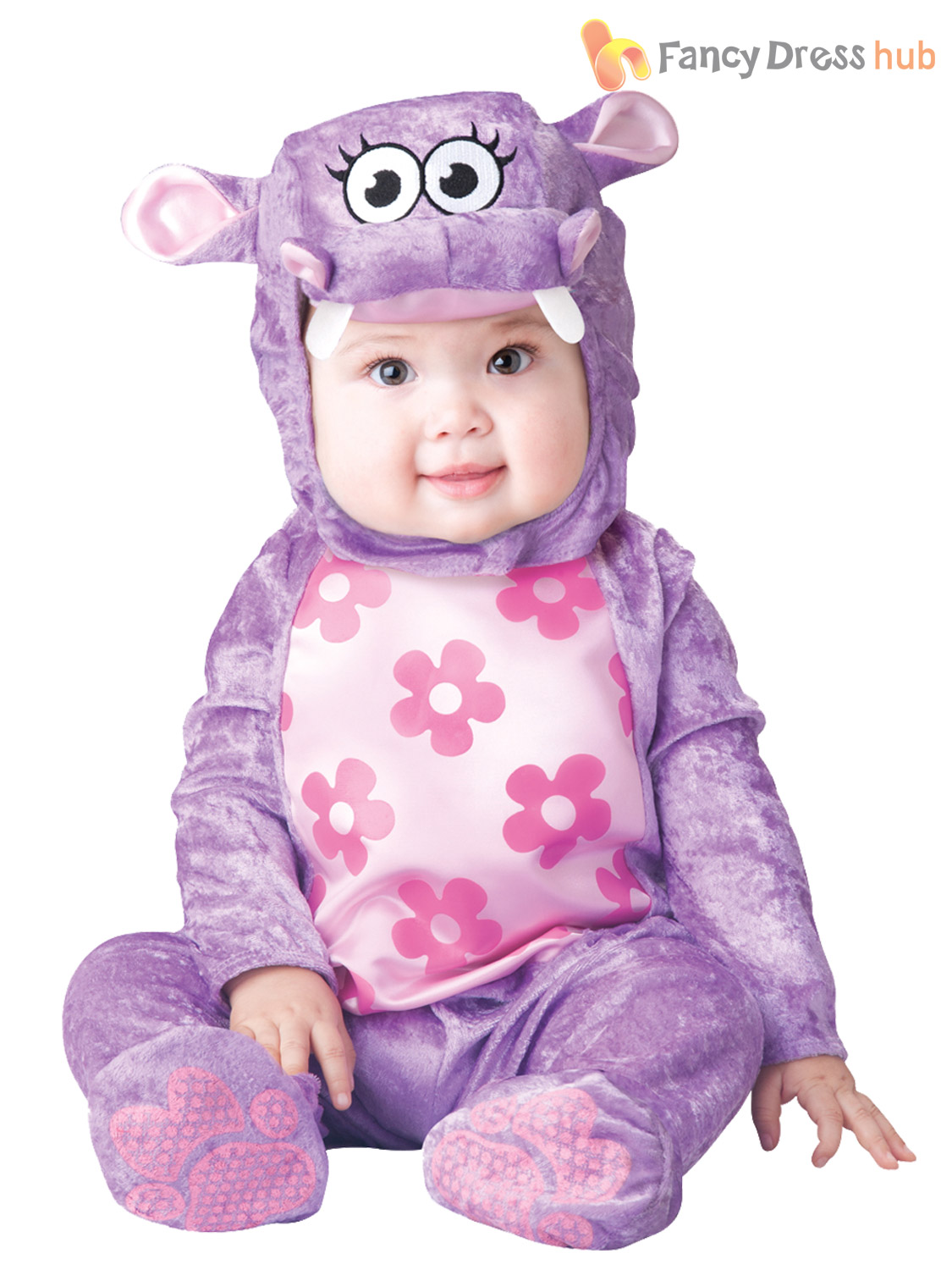 Cute Baby Animal: Your task is to pick an animal costume for baby Emily. She is very fond on animals but she doesnt yet know which one is her favorite. Go through all the options available and decide if youd rather dress up the baby in a rabbit costume or like a friendly fluffy panda. Do your best to make Emily look as cute as possible. Have fun!