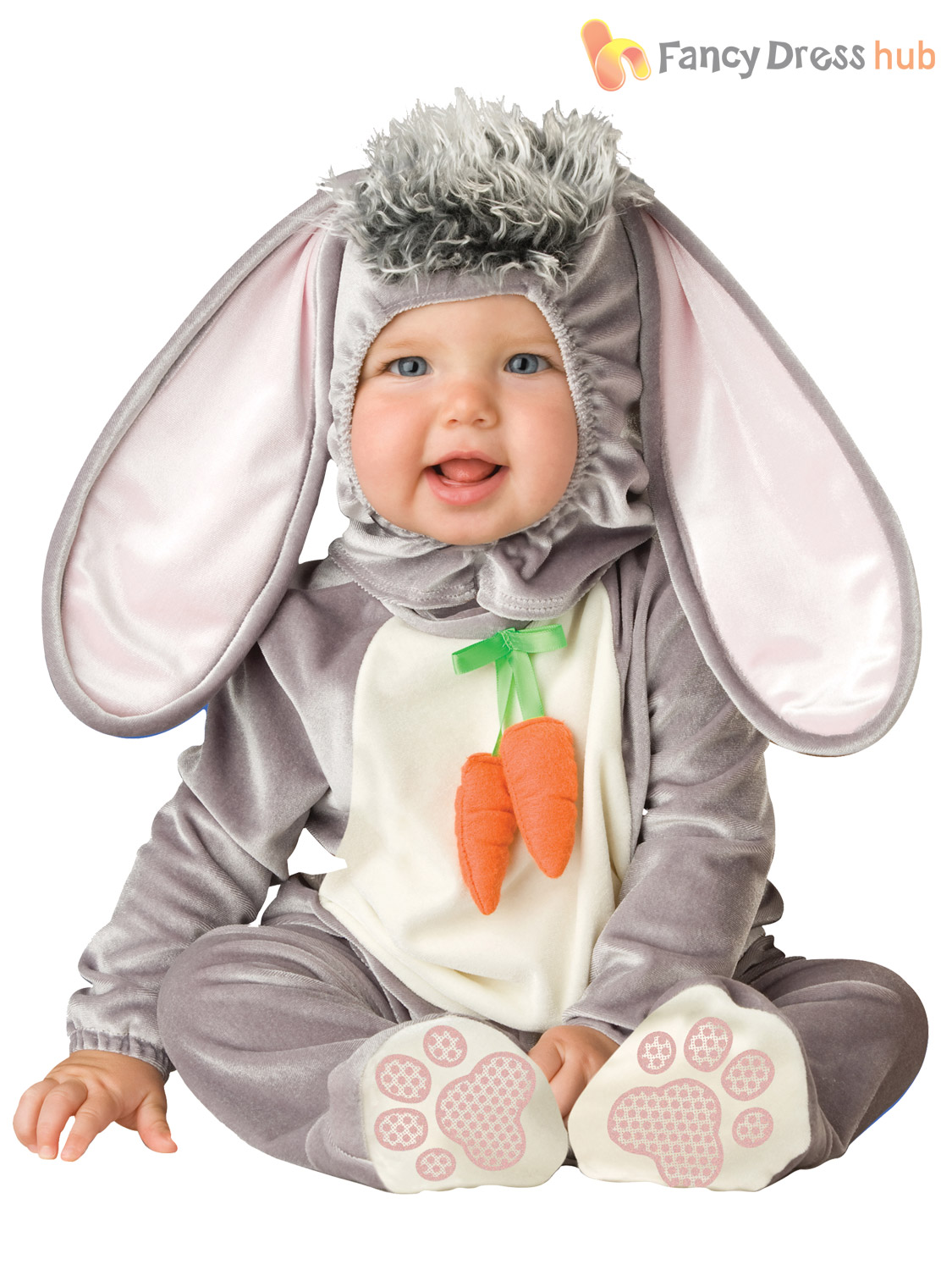 8794a3427 Boys Girls Baby Bunny Rabbit Easter Fancy Dress Costume Infant 6 12 ...