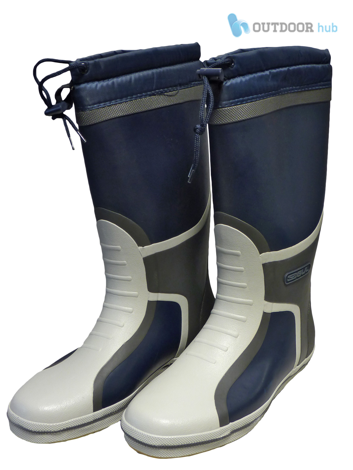 Gul deck boots full length sailing yachting fishing for Fishing deck boots