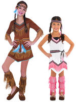 Girl's Native American Costume