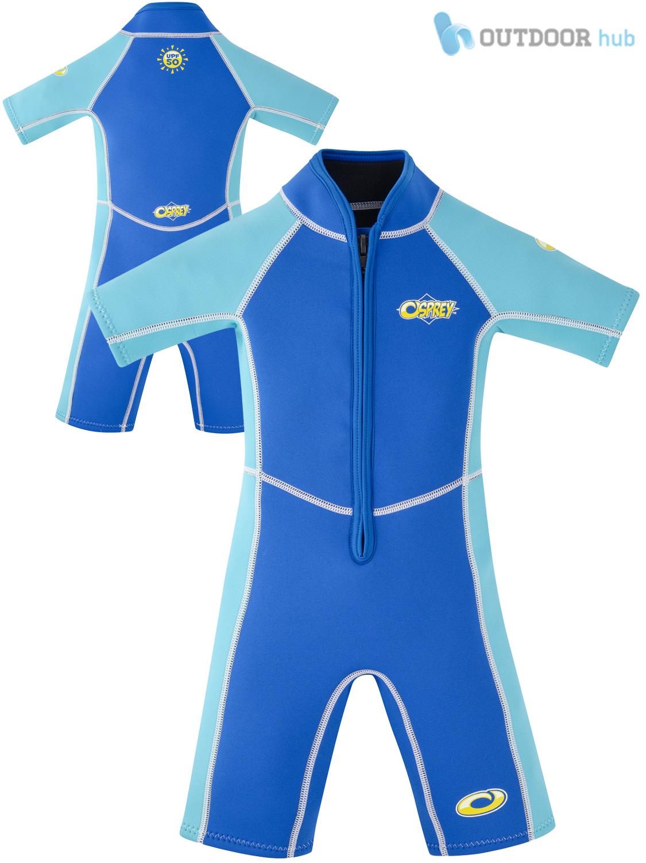 Osprey baby toddler shorty wetsuit shortie kids beach swim boys girl ebay for Children s swimming pool wetsuit