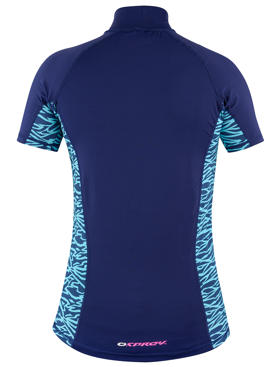 Osprey ladies short sleeve rash vest womens surf t shirt for Uv protection t shirt