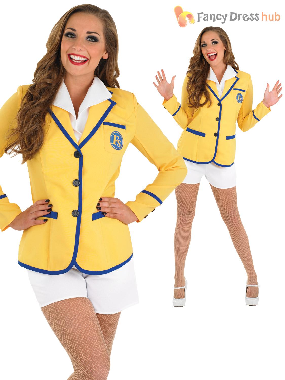 Hi De Hi Holiday Camp Helper Ladies Mens Adults Host Fancy Dress 1980s Costume