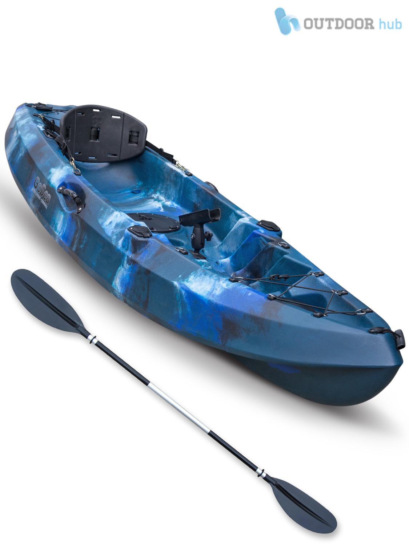 Sit on top kayak single fishing ocean angler canoe gosea for Best kayak for fishing