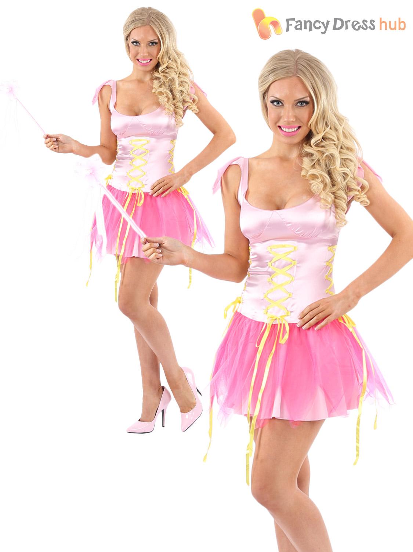 Las Fairy Fancy Dress Costume Wings Y Pixie